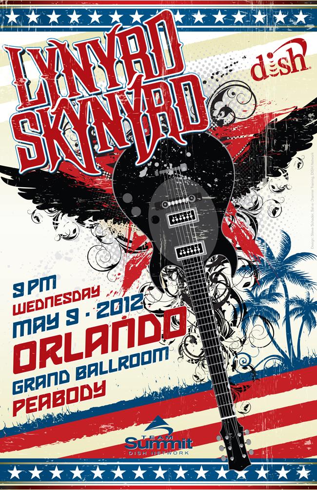 Lynryd Skynyrd Posters Eagleye Creative