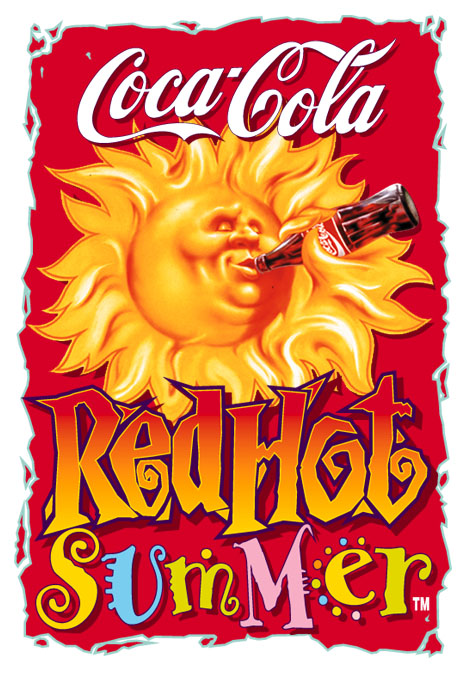 Coke Red Hot Summer Eagleye Creative
